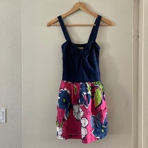 Hollister Floral Dress with Pockets - Size Small